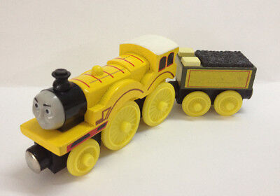 2pcs Set Thomas & Friends Molly and Tender Magnetic Wooden Toy Railway Train