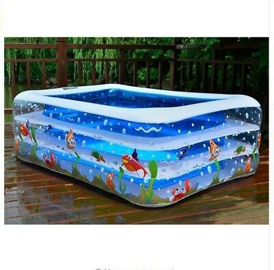 High Quality Children'sPaddling Pool Large Size Inflatable Square Swimming Pool