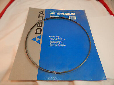 DELTA 28-033 14-Inch Band Saw Blade 93-1/2-Inch by 3/16-Inch 6 TPI NEW