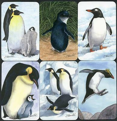 Spodooki Penguins Collection Of 6 Cards Third Series