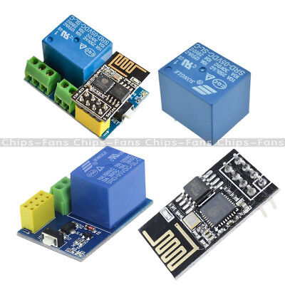 5V Wifi Relay Module +ESP8266 ESP-01S for TOI APP Controller DIY Smart Home