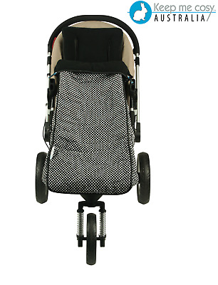 Keep Me Cosy™ Toddler Footmuff + Universal Pram Liner 2 in 1 set  - Ink Spot