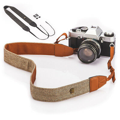 Camera Shoulder Neck Vintage Strap Belt for Sony Nikon Canon DSLR Pentax New