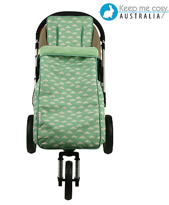Keep Me Cosy™  2 in 1 Footmuff + Pram Liner set for Toddler FREE Harness