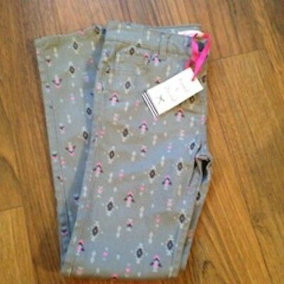 JOHN LEWIS Loved & Found AZTEC PRINT Trousers JEANS Age 9 NEW