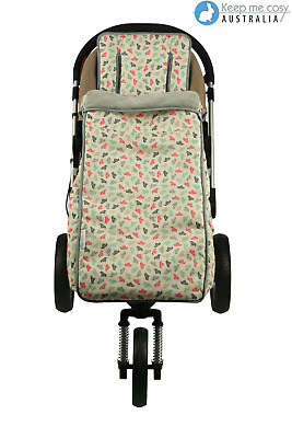 Keep Me Cosy™ 2 in 1 Baby/Toddler Footmuff & Pram Liner Universal fit Cotton.