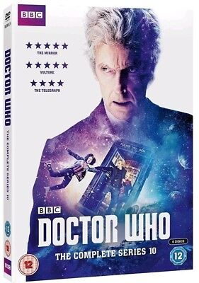 DOCTOR WHO: Complete Season/Series 10 * Brand New and Sealed * Region 2 UK