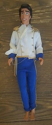 Rare Vintage Original Disney Little Mermaid Prince Eric Male Doll With Outfit