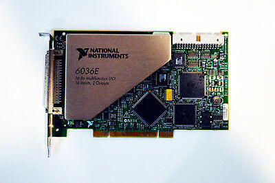 National Instruments NI PCI-6036E NI DAQ Card 16 bit Analog Input, Multifunction