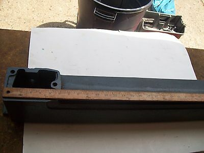 """Heavy Cast Base  #23215-103  from Vintage Sears Craftsman 24"""" Jig Saw #103.23440"""