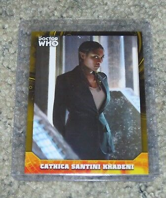 2017 Topps Doctor Who Signature Series Base Card 76 Yellow  Parallel  24/ 25