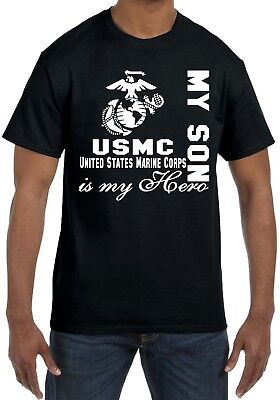 USMC Marines My Hero Personalized Shirt