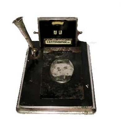 EXTREMELY RARE OLD ANTIQUE DESK TOP NOTE PAD CALENDAR from 1920s. -1940s.!!!