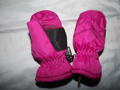 Thinsulate Mittens One Size Euc Pink