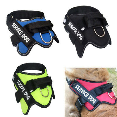 Large Dog Harness Adjustable Pet Walk Out Hand Strap Padded Reflective Soft Vest