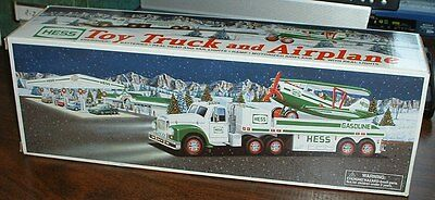 Hess Gasoline '02 Truck and Airplane