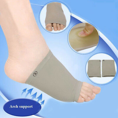 2pcs/lot Gel Plantar Fasciitis Arch Support - Recommended 2018