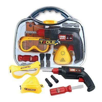Kids Tool Set Case with Drill