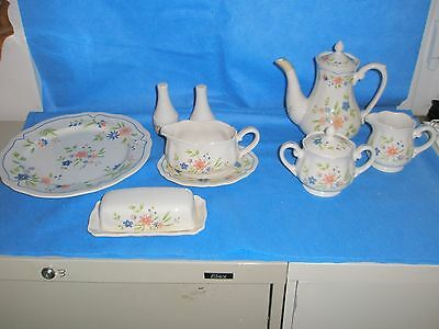 Country French Ironstone Japan Dishwasher Safe Oven Safe