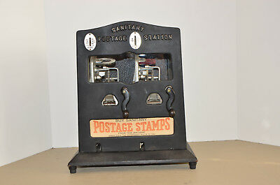 "1940's Schermack ""3 Cent & 1 Cent"" Sanitary Postage station stamp dispenser"