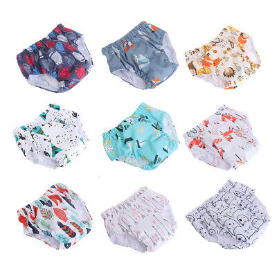 Baby Training Pants Newborn Diaper Cover Reusable Infant Bamboo Pants Underwear