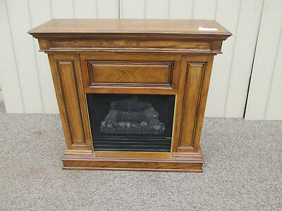 58165 Oak Fireplace Mantle With Insert