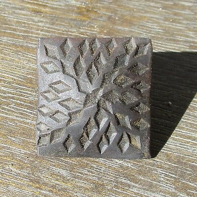 "4~Rustic hand forged blacksmith square nails hammered distressed 1-1/2"" black"