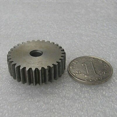 1Pcs 1 Mod 38T Spur Gear Motor Gear 45# Steel Thickness 10mm Outer Dia 40mm