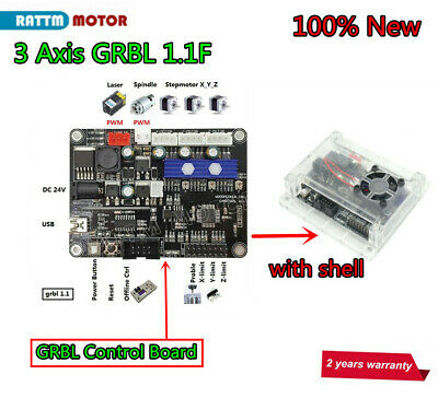 3 Axis GRBL Control Board for 1610/2418/3018 CNC Engraving Milling Laser Machine