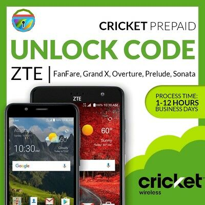 Unlock Code For Zte Overture 3 Z851m Cricket Prepaid From Amazon