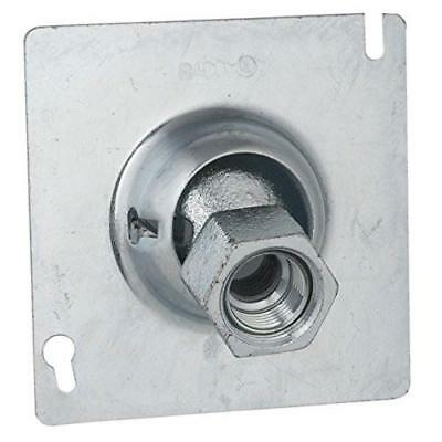 "RACO 896 Square Swivel Fixture Hanger 4"" x 4"" x 3"" for 1/2"" & 3/4"" pipe"