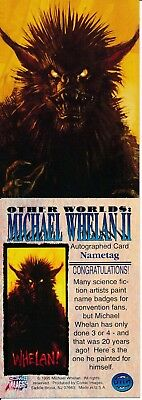 Other Worlds Michael Whelan Ii (Unsigned) Card Rare