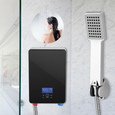 220V 6500W Tankless Instant Electric Indoor Bathroom Shower Hot Water Heater GW