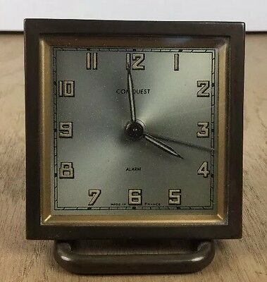 Conquest Freanch alarm  clock running condition