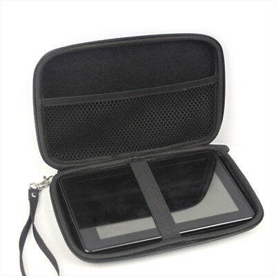 7 Inch Hard Shell Carry Bag Zipper Pouch Case For Garmin Nuvi TomTom GPS Sat Nav