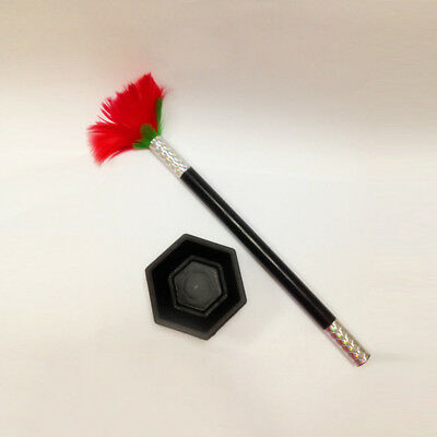 High Quality Comedy Magic Wand To Flower Magic Trick Kids Show Prop Toy Gift AU