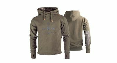 New Nash Tackle ZT Elements Ice Hoody Hoodie - All Sizes - Carp Fishing Clothing