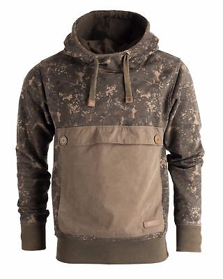 New Nash ZT Subterranean Camo Hoody Hoodie Jumper - All Sizes - Carp Fishing