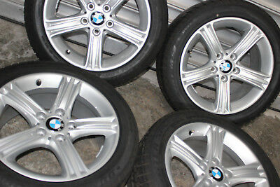 Genuine BMW 3 SERIES F30 F31 4 F33 17-Inch Complete Winter Wheels 6796242