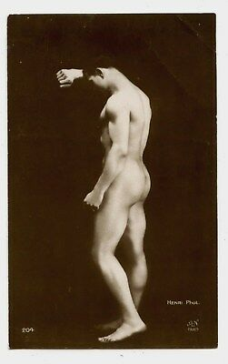 HENRY PHOT.AN PARIS. homme erotic. nude .nu masculin . male nude .