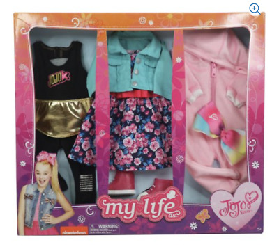 NEW My Life As - Day in the Life Clothing Set for 18in Doll - JOJO SIWA  3 SETS
