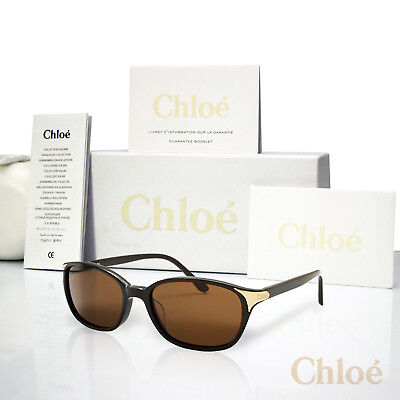 71ec44054b9b Chloe Women s Sunglasses Chocolate Brown CO2 CL2250 54mm Authentic  355