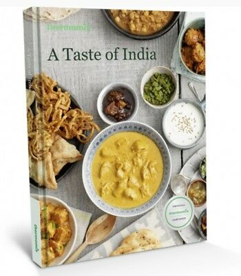 Thermomix Cookbook A Taste of India Indian Hardback NEW