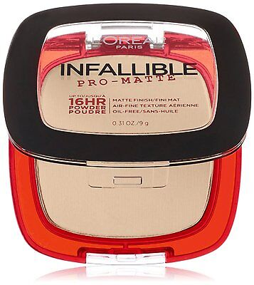 L'Oreal Paris Infallible Pro-Matte 16Hr Powder~Choose From 8 Shades~0.31 Oz~NEW