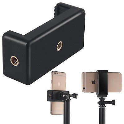 Phot-R Universal Smartphone Phone Holder Tripod Monopod Mount Clamp iPhone S7 S8