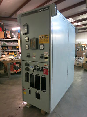 GE PowerVac 13.8 kV 1200-2000 Amp Switchgear Breaker Cabinet Power/Vac 15kV 15 A