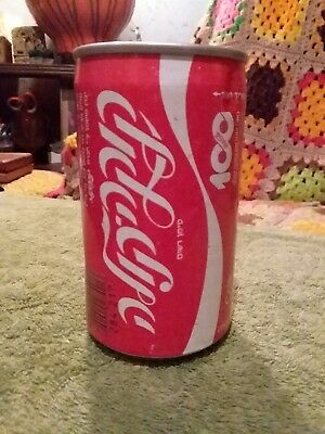 1986 Coca Cola can from Israel, 100 / Centennial Celebration
