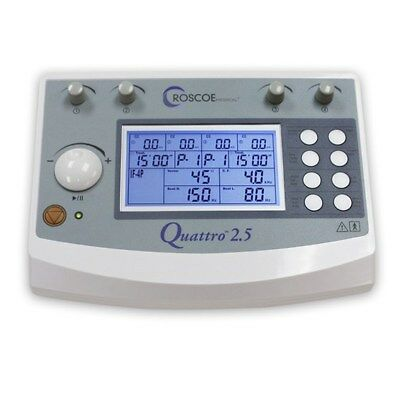 Quattro 2.5 4CH Stimulator with TENS, EMS, IF & RUSSIAN