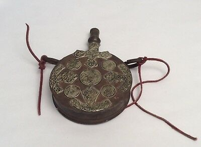 Rare Antique Ottoman Gun Powder Flask - Janissaries, 1330