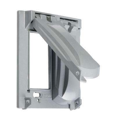 Hubbell Bell 2-Gang Weatherproof Universal Flip Lid Device Covers - MX2050S